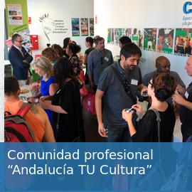 Comunidad profesional: Andalucía Tu Cultura