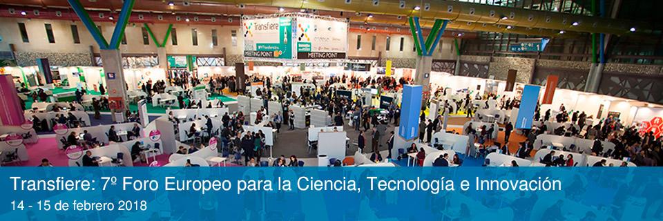 Transfiere. 7º Foro Europeo para la Ciencia, Tecnología e Innovación