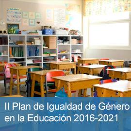 II Plan de Igualdad de Género en la Educación 2016-2021