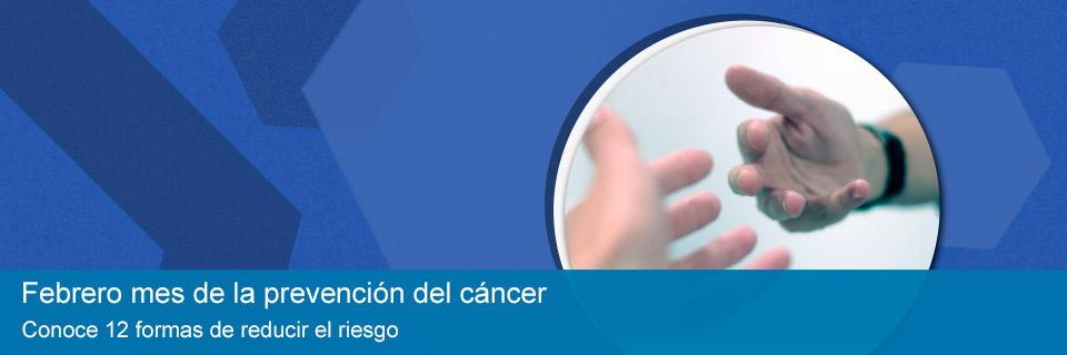 Mes de la prevención del cancer