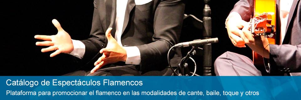 Catálogo de Espectáculos Flamencos