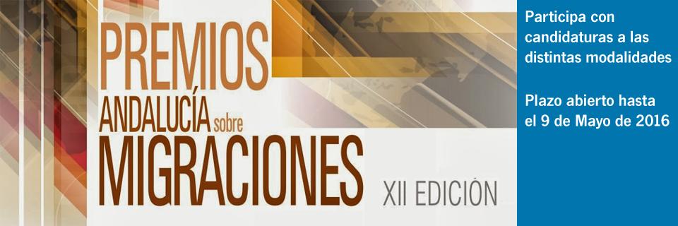 Premios Andalucía sobre Migraciones XII Edición