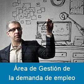 Área de Gestión de la demanda de empleo