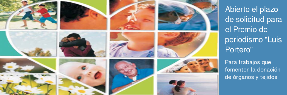 Luis Portero de Promoción del Donante de Órganos y Tejidos en Andalucía