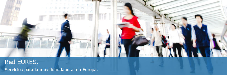 Red EURES. Servicios para la movilidad laboral en Europa.