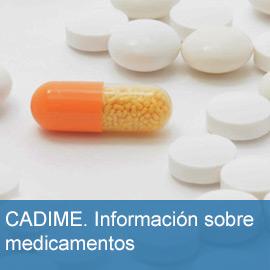 CADIME: centro Andaluz de Documentación e Información de Medicamentos