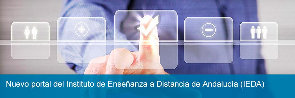 Nuevo portal del Instituto de Enseñanza a Distancia de Andalucía (IEDA)