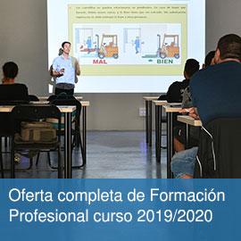 Títulos FP para el curso 2019/2020