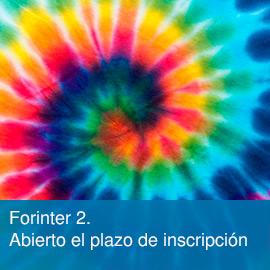 Forinter2. Programación 2018