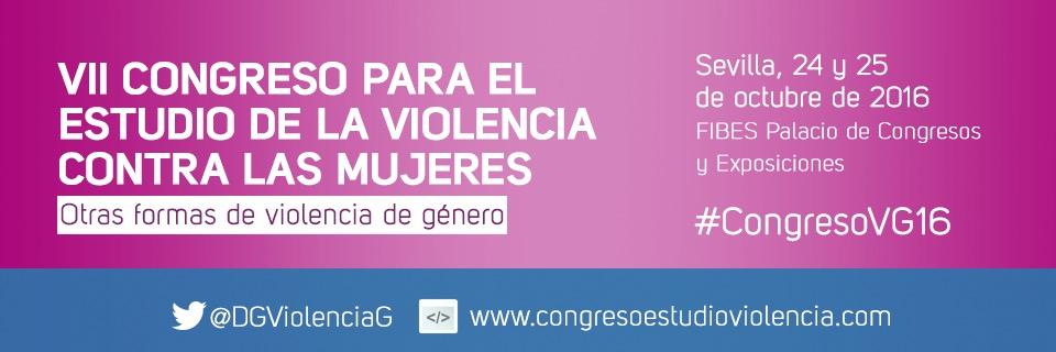 VII congreso para el estudio de la violencia contra las mujeres