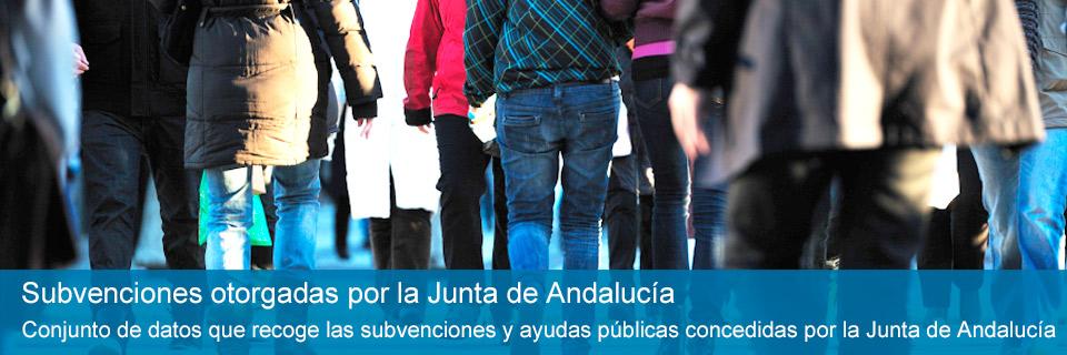 Subvenciones de la Junta de Andalucía