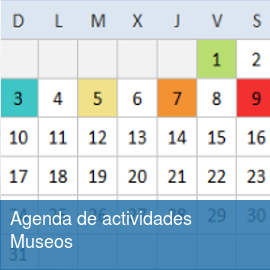 Agenda de actividades Museos