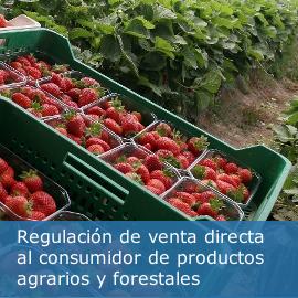 Venta directa de productos primarios desde las explotaciones agrarias y forestales a consumidores finales y establecimientos