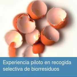 Experiencia piloto en recogida selectiva de biorresiduos