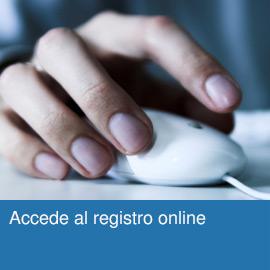 Accede al registro online