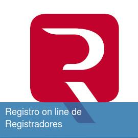 Registro online de Registradores