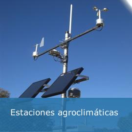 Estaciones agroclimáticas