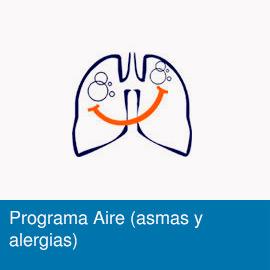 Programa Aire (asmas y alergias)