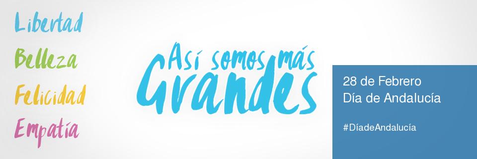 Campaña Institucional 28F, Día de Andalucía, 2017