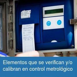Control metrológico