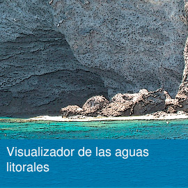 Visualizador de las aguas litorales