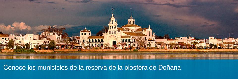 Conoce los municipios de la reserva de la biosfera de Doñana