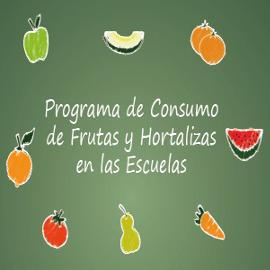 Consumo de frutas y hortalizas en las escuelas