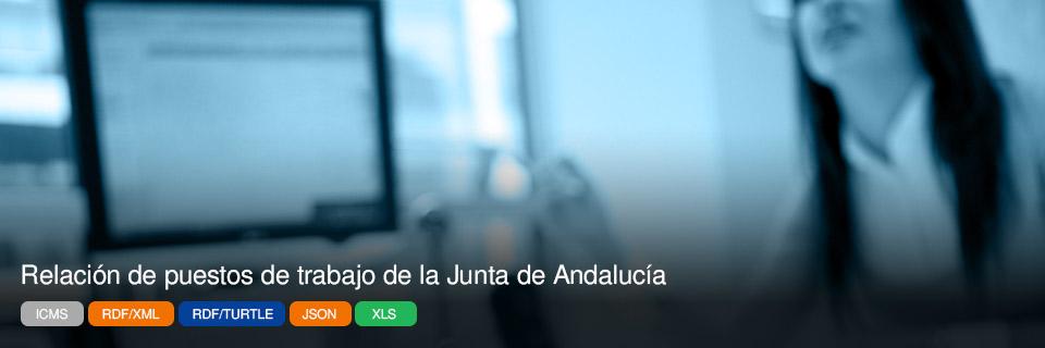 Relación de puestos de trabajo de la Junta de Andalucía
