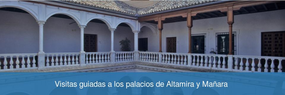Visitas guiadas a los palacios de Altamira y Mañara