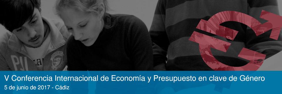 V Conferencia Internacional de Economía y Presupuesto en clave de Género