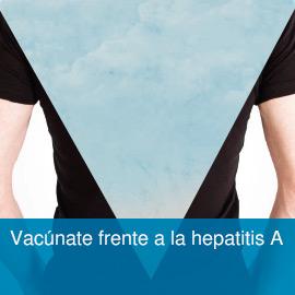 Vacúnate frente a la hepatitis A