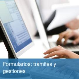 Formularios: trámites y gestiones relativos a fundaciones