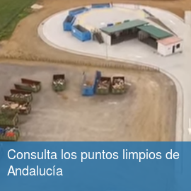 Consulta los puntos limpios de Andalucía