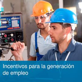 Incentivos empleo
