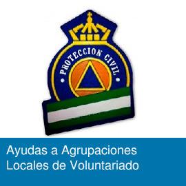 Ayudas a Agrupaciones Locales del Voluntariado de Protección Civil