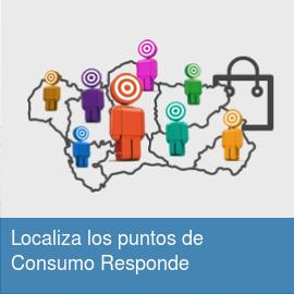Localiza los puntos de Consumo Responde