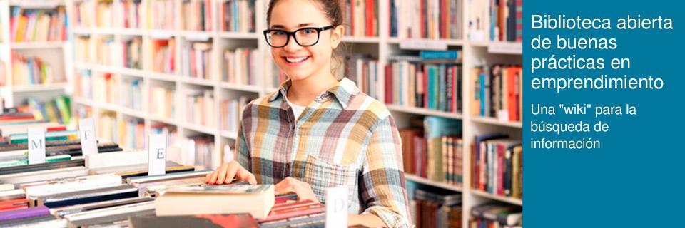 Biblioteca abierta de buenas prácticas en emprendimiento
