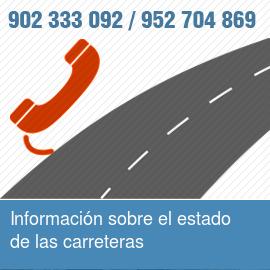 Información sobre estado de carreteras