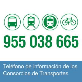 Teléfono de Información de los Consorcios de Transportes