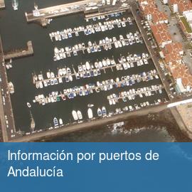 Información por puertos de Andalucía