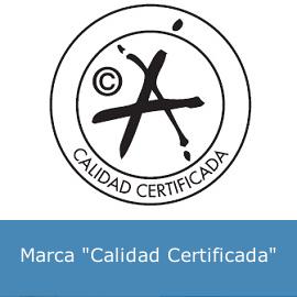"""Marca """"Calidad Certificada"""""""