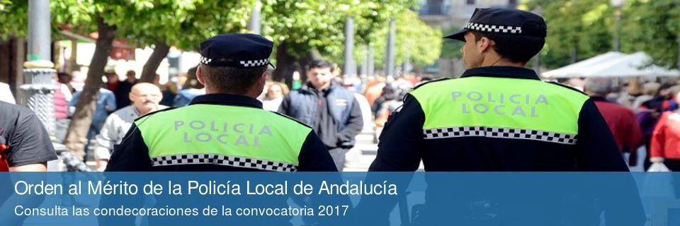 Orden al Mérito de la Policía Local de Andalucía