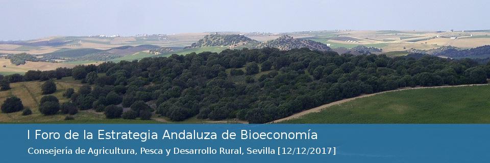 I Foro de la Estrategia Andaluza de Bioeconomía