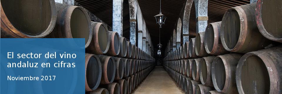 El sector del vino andaluz en cifras. Noviembre 2017