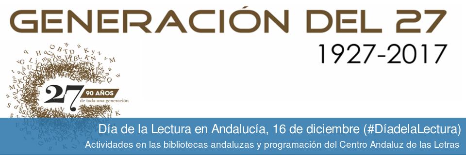 Día de la Lectura en Andalucía. 16 de diciembre