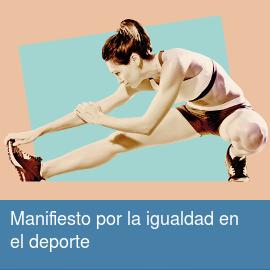 Manifiesto por la igualdad en el deporte