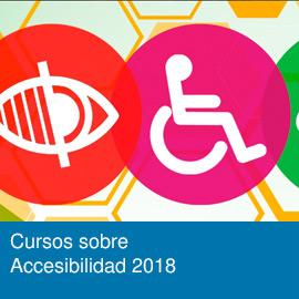 Cursos sobre accesibilidad 2018