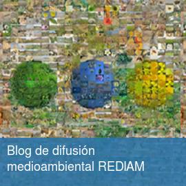 Blog de difusión medioambiental REDIAM