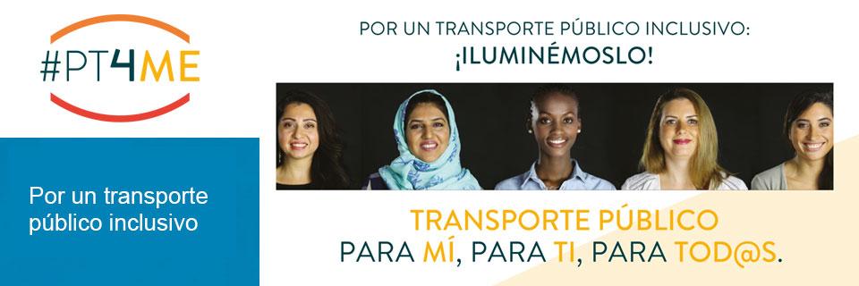 """Campaña 8 de marzo """"Por un transporte inclusivo"""". V45"""" 7 visualizaciones"""