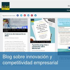 Blog sobre innovación y competitividad empresarial